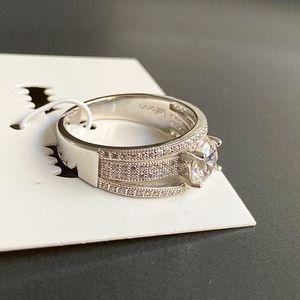 NEW LaFonn Micro Pave Simulated Diamonds Ring